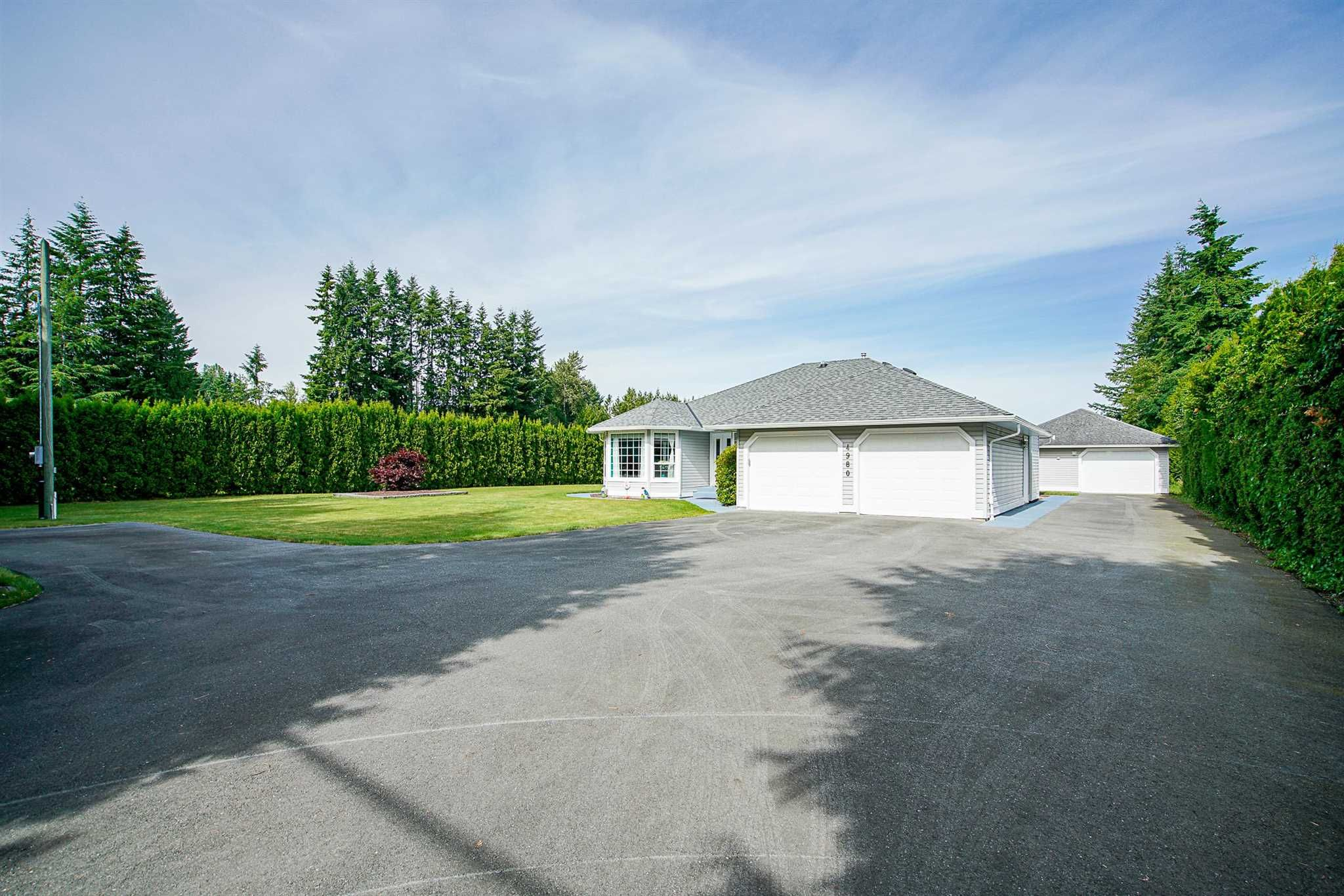 """Main Photo: 4980 236 Street in Langley: Salmon River House for sale in """"Strawberry Hills"""" : MLS®# R2594164"""