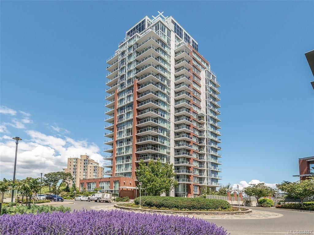 Main Photo: 605 83 Saghalie Rd in : VW Songhees Condo for sale (Victoria West)  : MLS®# 884887