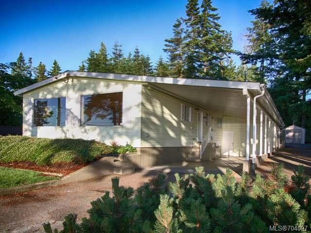 Main Photo: 3836 S Island Hwy in CAMPBELL RIVER: CR Campbell River South Manufactured Home for sale (Campbell River)  : MLS®# 704097