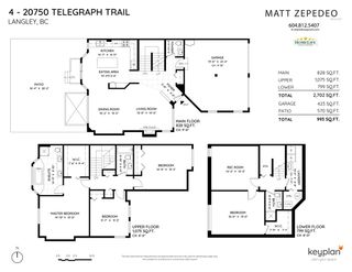 """Photo 34: 4 20750 TELEGRAPH Trail in Langley: Walnut Grove Townhouse for sale in """"Heritage Glen"""" : MLS®# R2563994"""