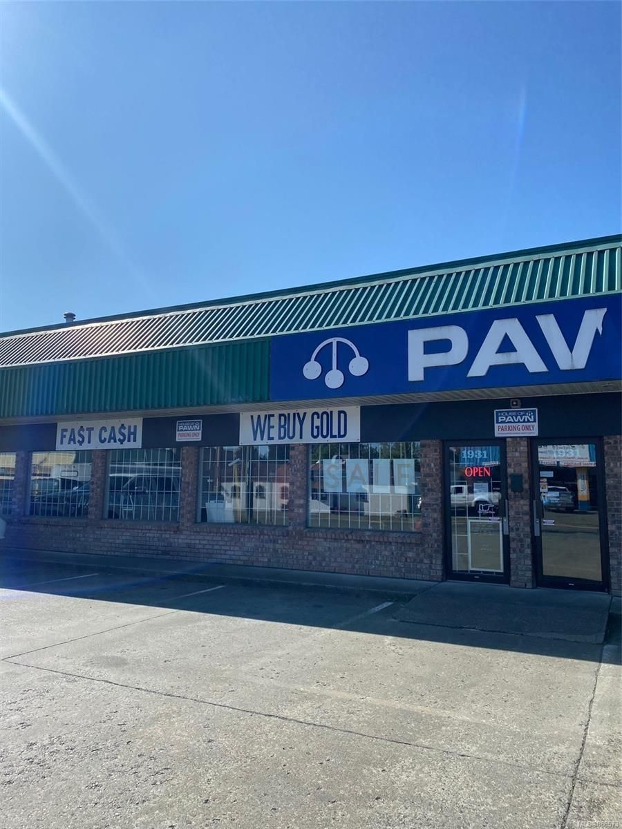 Main Photo: 1931 Island Hwy in : CR Campbellton Retail for sale (Campbell River)  : MLS®# 886573
