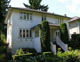 Photo 1: 6569 BALSAM ST in Vancouver: S.W. Marine House for sale (Vancouver West)  : MLS®# V598156