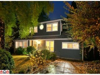 Photo 1: 1425 129TH Street in South Surrey White Rock: Crescent Bch Ocean Pk. Home for sale ()  : MLS®# F1226480