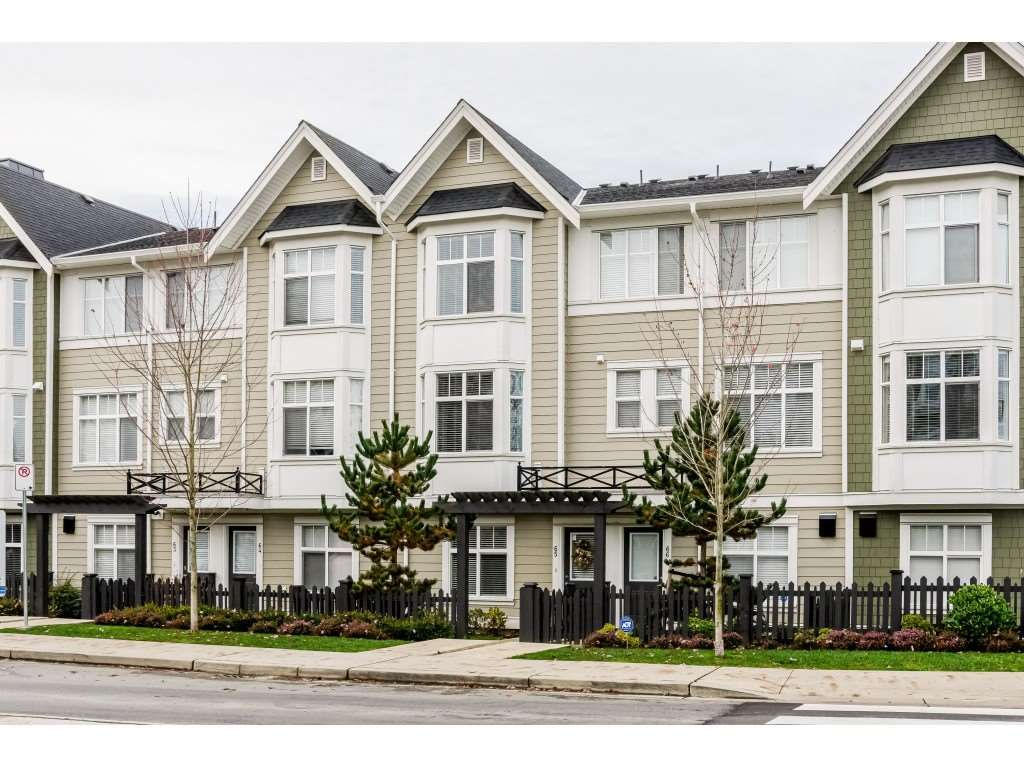 "Main Photo: 65 20852 77A Avenue in Langley: Willoughby Heights Townhouse for sale in ""ARCADIA"" : MLS®# R2420037"