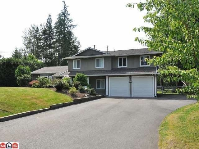 """Main Photo: 22848 76B CR in Langley: Fort Langley House for sale in """"Forest Knolls"""" : MLS®# F1301812"""