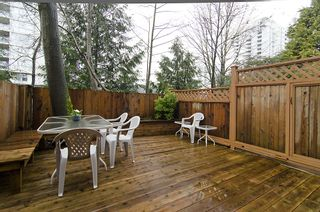 """Photo 12: 249 BALMORAL PL in Port Moody: North Shore Pt Moody Townhouse for sale in """"BALMORAL PLACE"""" : MLS®# V987932"""