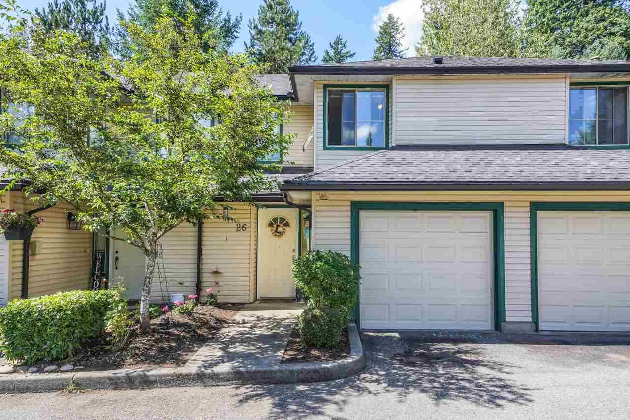 """Main Photo: 26 21960 RIVER Road in Maple Ridge: West Central Townhouse for sale in """"FOXBOROUGH HILLS"""" : MLS®# R2490584"""