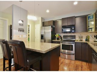 """Photo 1: 307 5474 198 Street in Langley: Langley City Condo for sale in """"Southbrook"""" : MLS®# F1408938"""