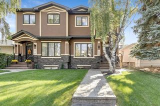 Photo 1: 1235 Rosehill Drive NW in Calgary: Rosemont Semi Detached for sale : MLS®# A1144779