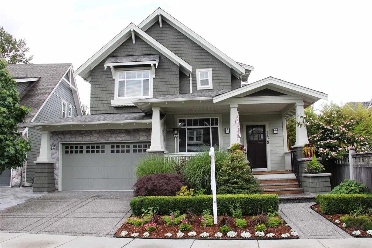 "Main Photo: 9475 WASKA Street in Langley: Fort Langley House for sale in ""Bedford Landing"" : MLS®# R2085903"