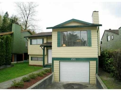 Main Photo: 1321 NESTOR Street in Coquitlam: New Horizons House for sale : MLS®# V870143