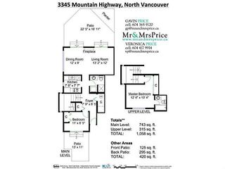 """Photo 19: 3345 MOUNTAIN Highway in North Vancouver: Lynn Valley Townhouse for sale in """"VILLAGE ON THE CREEK"""" : MLS®# V1141033"""