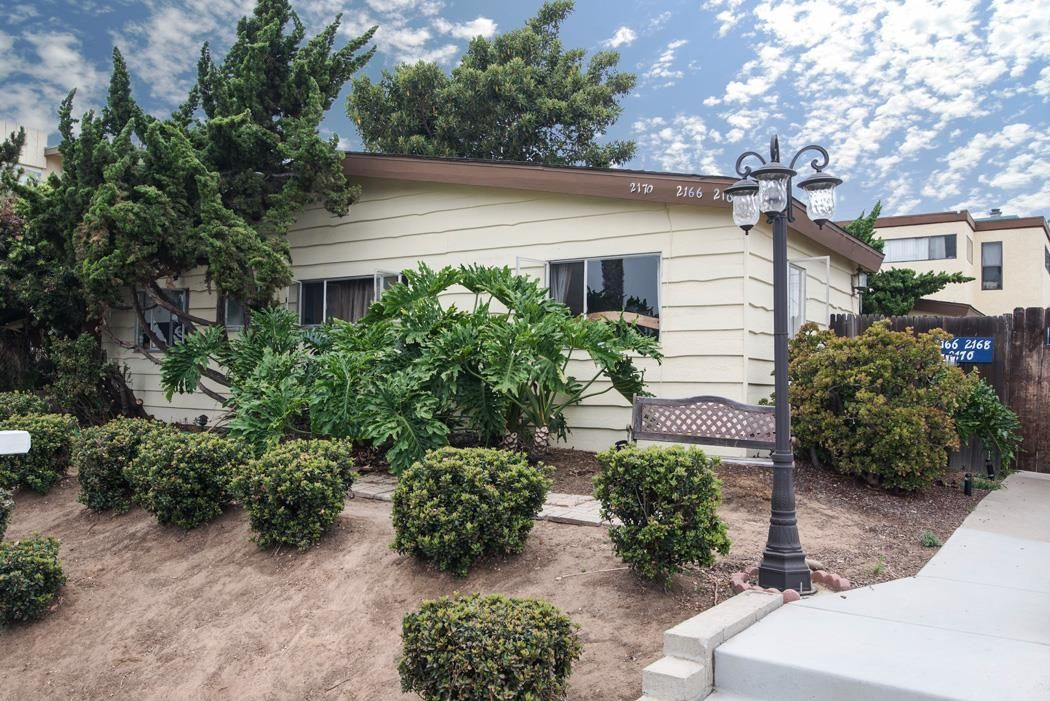 Main Photo: PACIFIC BEACH Property for sale: 2166-2170 Thomas Avenue in San Diego