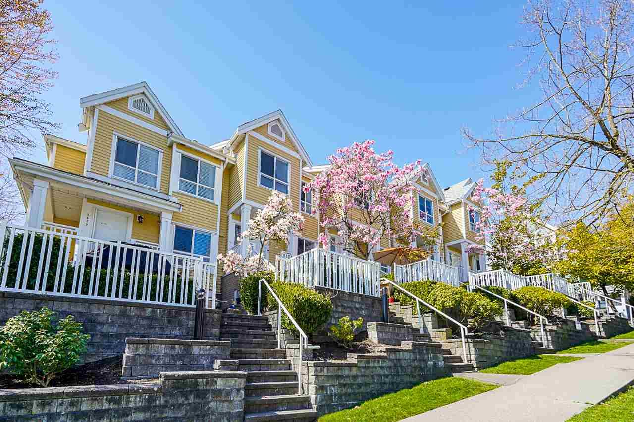 """Main Photo: 8435 JELLICOE Street in Vancouver: South Marine Townhouse for sale in """"Fraserview Terrace"""" (Vancouver East)  : MLS®# R2570044"""