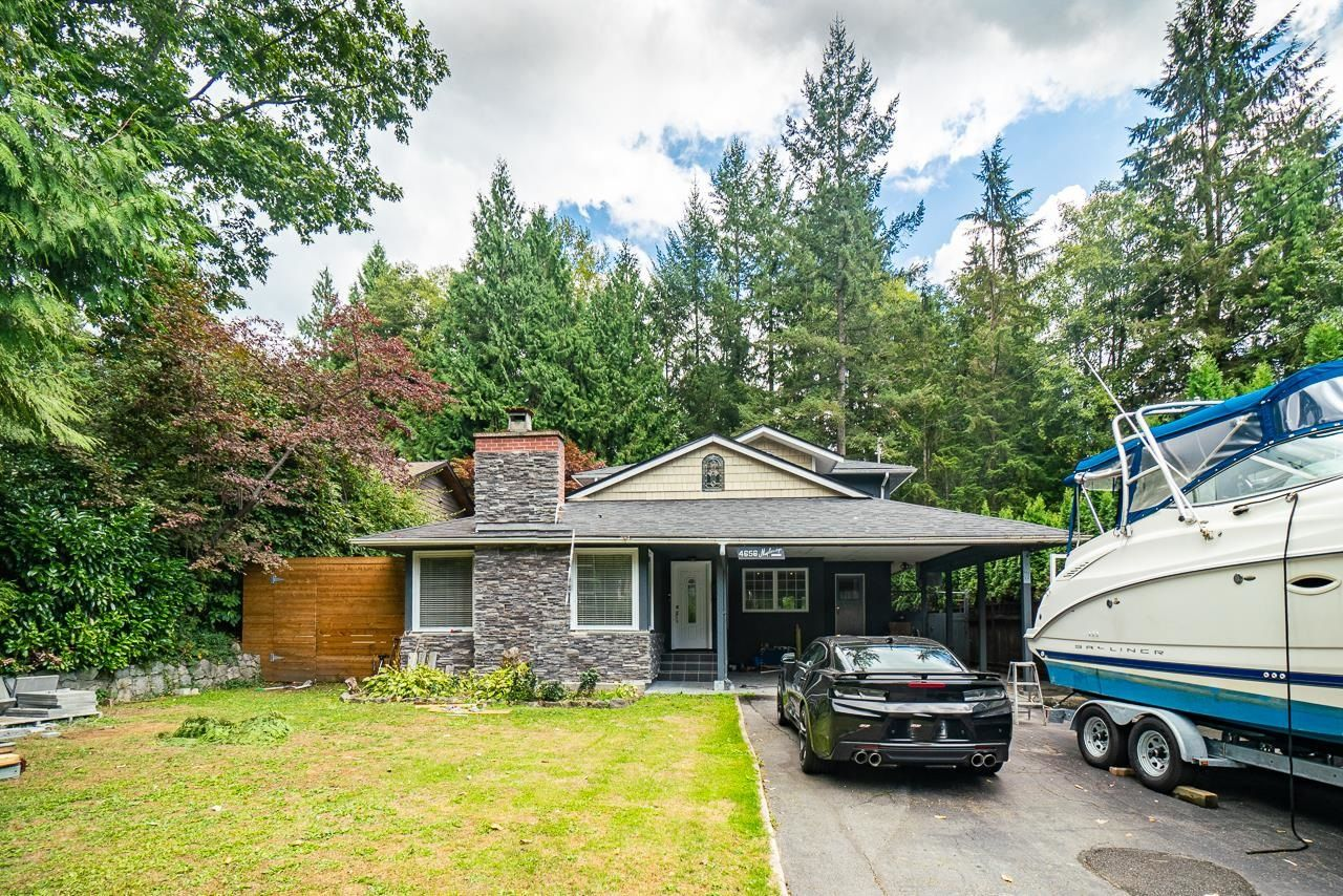 Main Photo: 4656 MAPLERIDGE Drive in North Vancouver: Canyon Heights NV House for sale : MLS®# R2616027