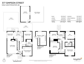 """Photo 2: 377 SIMPSON Street in New Westminster: Sapperton House for sale in """"SAPPERTON"""" : MLS®# R2543534"""