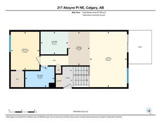 Photo 28: 217 Aboyne Place NE in Calgary: Abbeydale Semi Detached for sale : MLS®# A1104052