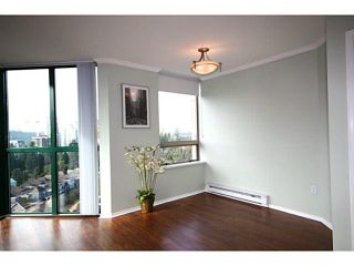 """Photo 4: 1505 1199 EASTWOOD Street in Coquitlam: North Coquitlam Condo for sale in """"Silkerk"""" : MLS®# V1088798"""