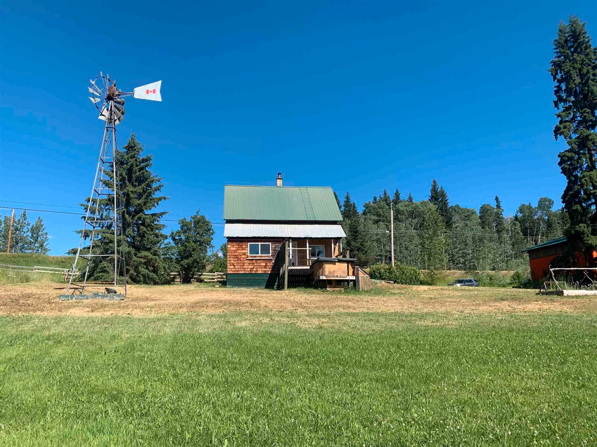 Main Photo: 20887 W 16 Highway in Smithers: Smithers - Rural House for sale (Smithers And Area (Zone 54))  : MLS®# R2596029