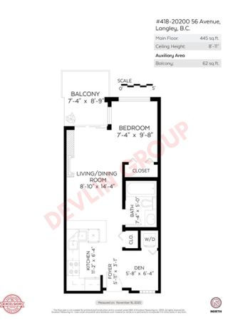 """Photo 28: 418 20200 56 Avenue in Langley: Langley City Condo for sale in """"The Bentley"""" : MLS®# R2612612"""
