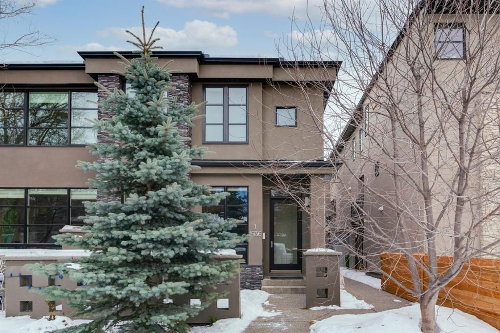 Main Photo: 1 1936 36 Street SW in Calgary: Killarney/Glengarry Row/Townhouse for sale : MLS®# A1058045