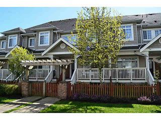 """Photo 1: 12 6852 193RD Street in Surrey: Clayton Townhouse for sale in """"INDIGO"""" (Cloverdale)  : MLS®# F1447121"""