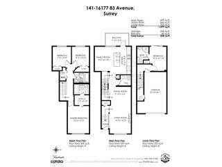 "Photo 34: 141 16177 83 Avenue in Surrey: Fleetwood Tynehead Townhouse for sale in ""VERANDA"" : MLS®# R2534199"