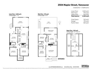 "Photo 20: 2504 NAPIER Street in Vancouver: Renfrew VE House for sale in ""RENFREW"" (Vancouver East)  : MLS®# R2449289"