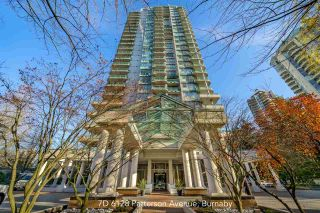 "Photo 1: 7D 6128 PATTERSON Avenue in Burnaby: Metrotown Condo for sale in ""Grand Central Park Place"" (Burnaby South)  : MLS®# R2431168"