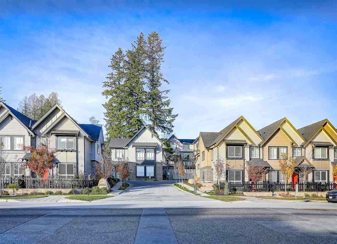 """Main Photo: 46 14555 68 Avenue in Surrey: East Newton Townhouse for sale in """"Sync"""" : MLS®# R2547239"""