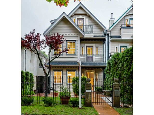 Main Photo: 1538 E 10 Avenue in Vancouver: Grandview VE 1/2 Duplex  (Vancouver East)  : MLS®# V1092394