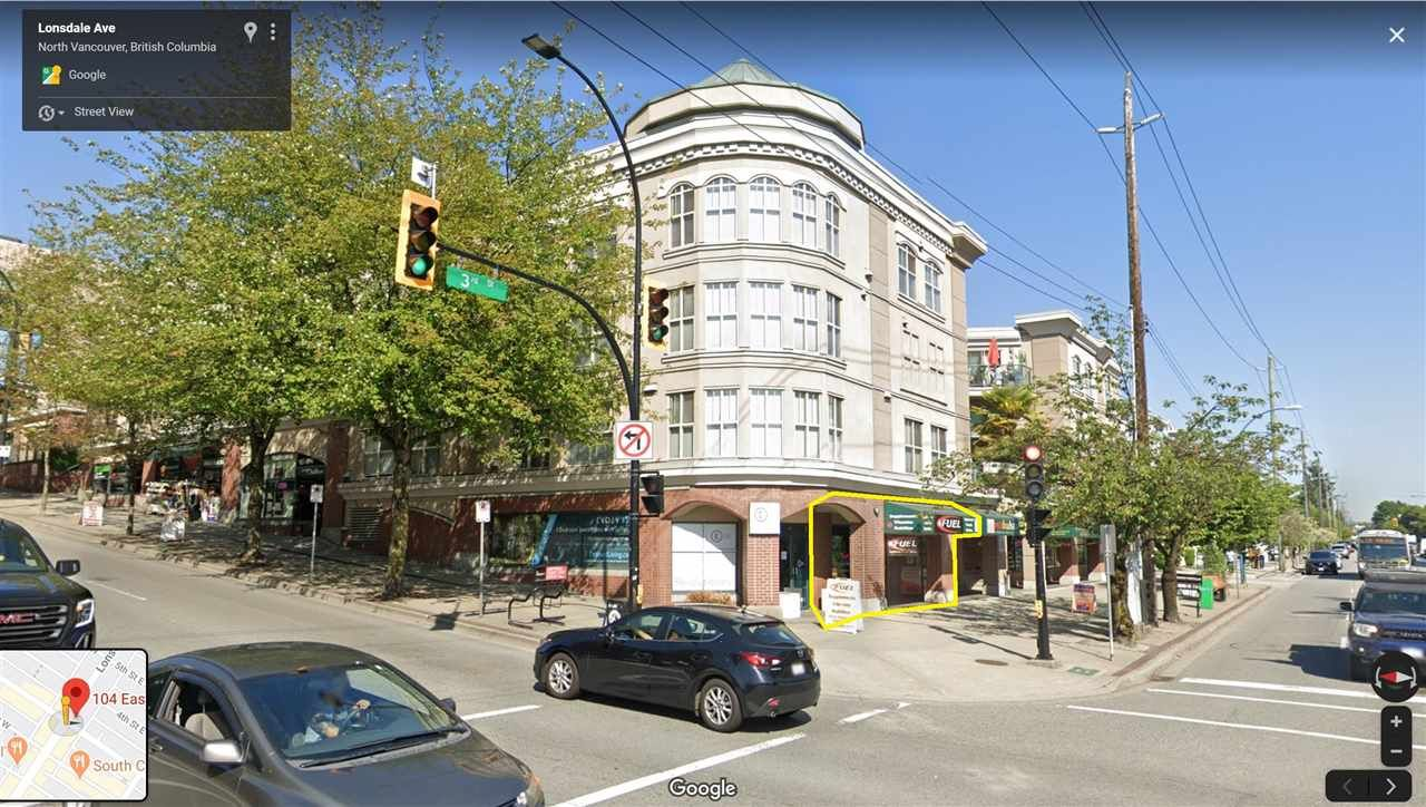 Main Photo: 104 E 3 Street in North Vancouver: Lower Lonsdale Retail for sale : MLS®# C8033379