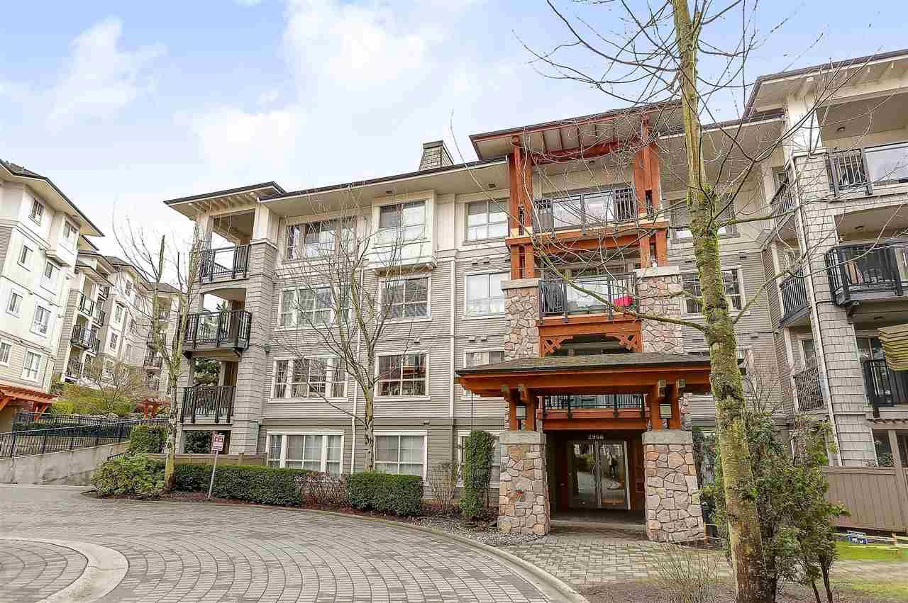 "Main Photo: 405 2966 SILVER SPRINGS Boulevard in Coquitlam: Westwood Plateau Condo for sale in ""TAMARISK"" : MLS®# R2148671"