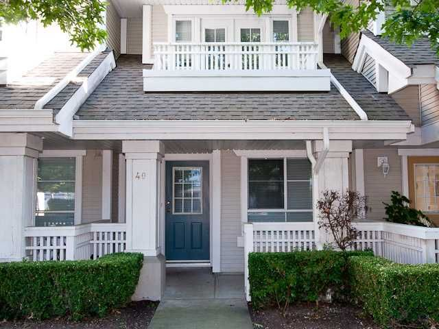 Main Photo: 40 22000 SHARPE Avenue in Richmond: Hamilton RI Townhouse for sale : MLS®# V842082