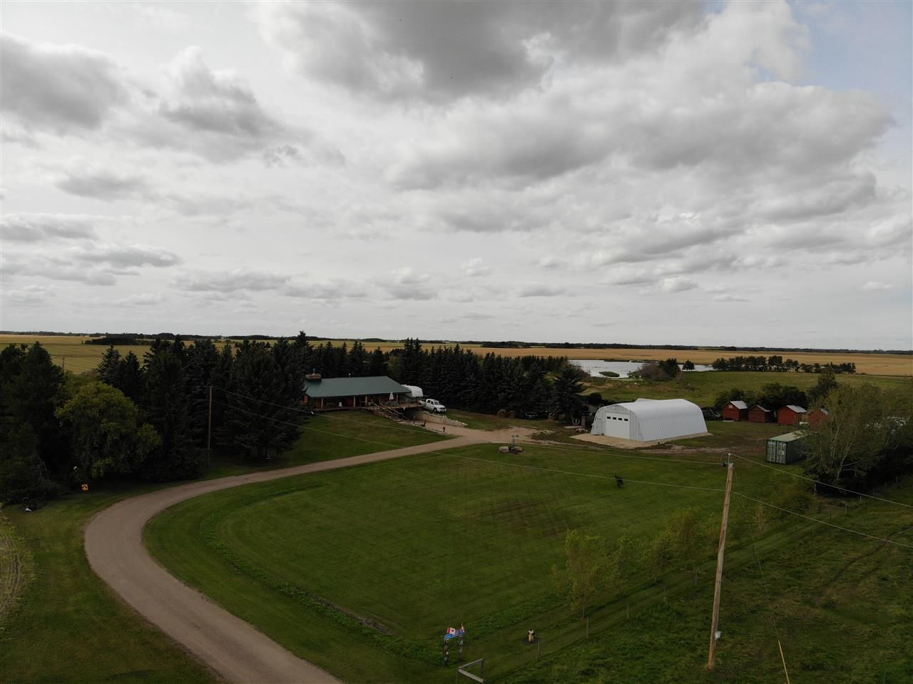 Main Photo: 43462 Range Road 150: Killam Land Commercial for sale : MLS®# E4210670