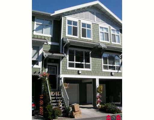 """Main Photo: 74 15168 36TH Avenue in Surrey: Morgan Creek Townhouse for sale in """"Solay"""" (South Surrey White Rock)  : MLS®# F2723651"""