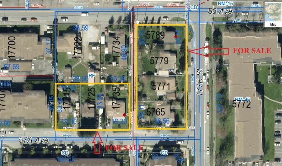Main Photo: 17715 57A AVENUE in Cloverdale: Land Commercial  : MLS®# C8010228