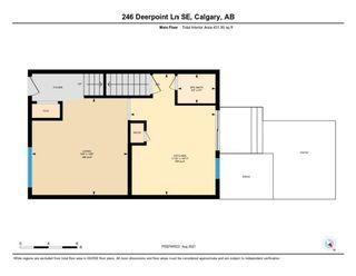 Photo 30: 246 Deerpoint Lane SE in Calgary: Deer Ridge Row/Townhouse for sale : MLS®# A1142956