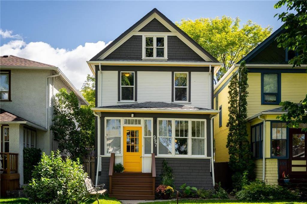 Main Photo: 997 Sherburn Street in Winnipeg: Sargent Park Residential for sale (5C)  : MLS®# 202022755