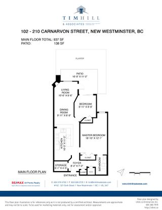 "Photo 34: 102 210 CARNARVON Street in New Westminster: Downtown NW Condo for sale in ""Hillside Heights"" : MLS®# R2562008"