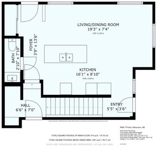 Photo 3: 9606 119 Avenue in Edmonton: Zone 05 House Half Duplex for sale : MLS®# E4237162