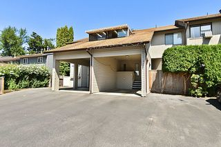 """Photo 1: B 33871 MARSHALL Road in Abbotsford: Central Abbotsford Townhouse for sale in """"MARSHALL HEIGHTS"""" : MLS®# R2605692"""