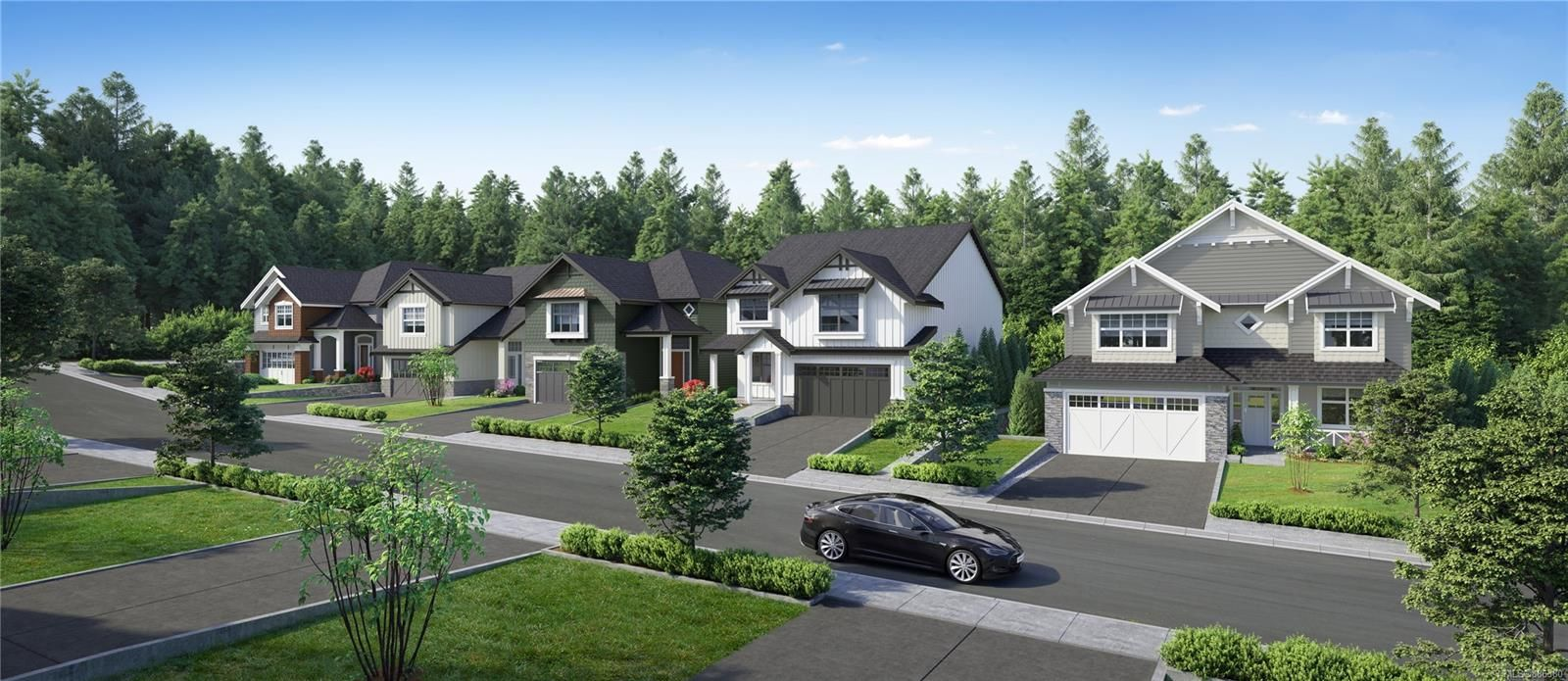 Main Photo: 3602 Delblush Lane in : La Olympic View Land for sale (Langford)  : MLS®# 886380