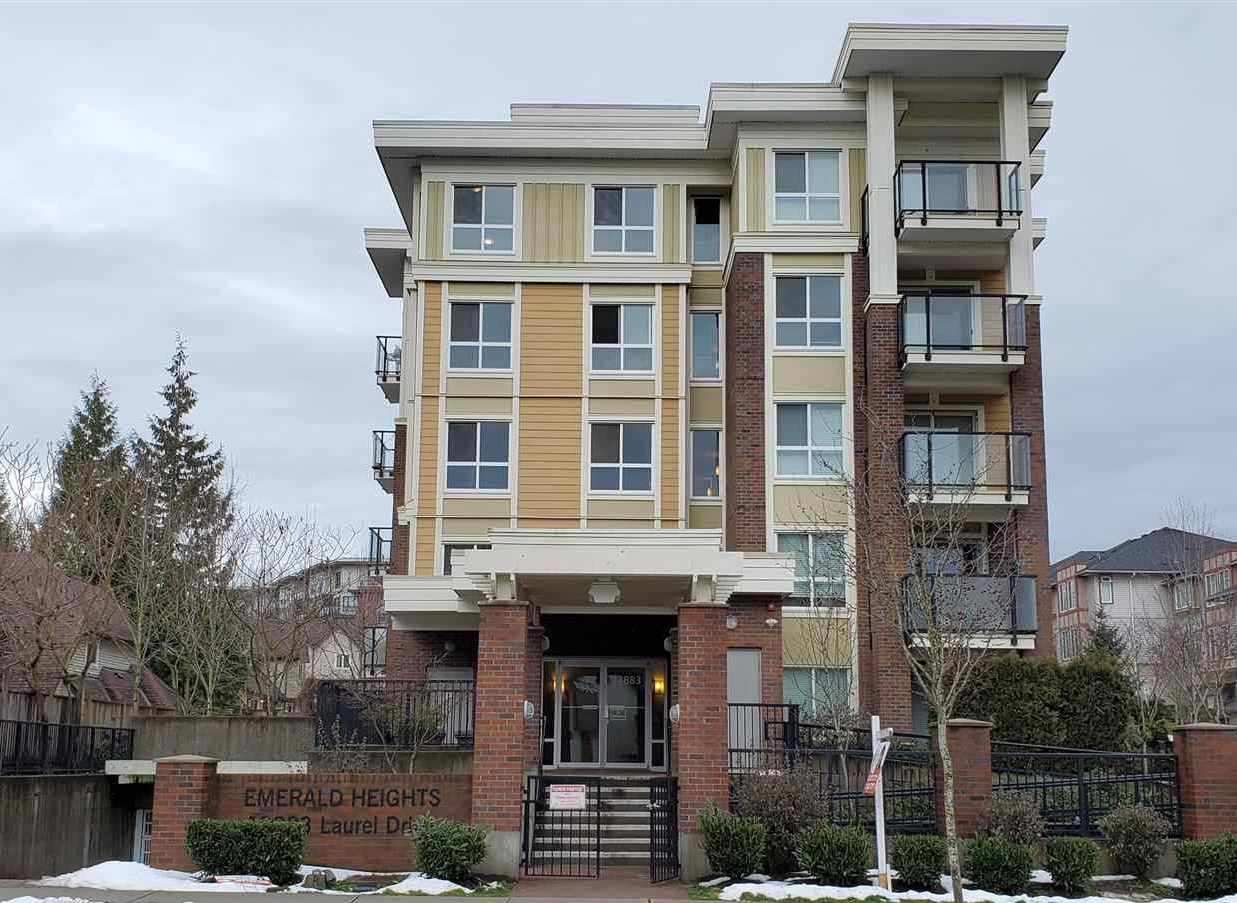 "Main Photo: 601 13883 LAUREL Drive in Surrey: Whalley Condo for sale in ""Emerald Heights"" (North Surrey)  : MLS®# R2562218"
