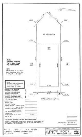 Photo 6: 32 WINDERMERE Drive in Edmonton: Zone 56 Vacant Lot for sale : MLS®# E4243808