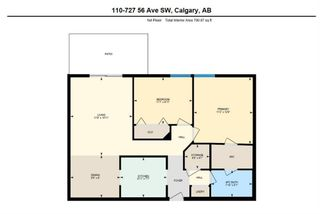 Photo 32: 110 727 56 Avenue SW in Calgary: Windsor Park Apartment for sale : MLS®# A1133912