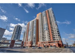 Photo 1: 1406 1053 10 Street SW in Calgary: Beltline Condo for sale : MLS®# C4110004