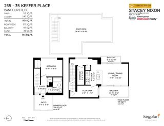 """Photo 6: 255 35 KEEFER Place in Vancouver: Downtown VW Townhouse for sale in """"The Taylor"""" (Vancouver West)  : MLS®# R2572917"""