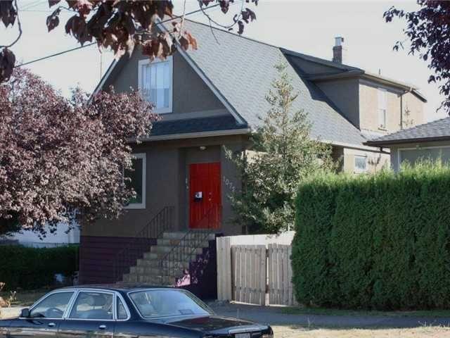 Main Photo: 1072 E 55TH AV in : South Vancouver House for sale : MLS®# V973025