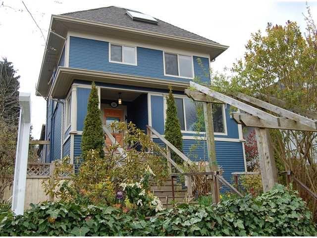 Main Photo: 258 E 16TH AV in : Main House for sale : MLS®# V884708